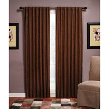 Dark curtains, a must for privacy. Dark Curtains, Blackout Curtains, Panel Curtains, Mocha Color, Window Coverings, Man Cave, Interior Design, Bedroom, Navy