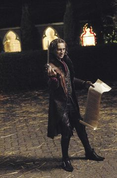 Rumplestiltskin--he's become one of my favorite characters on the show. And such an AMAZING actor!!!!