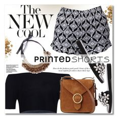 """""""Prints Charming: A Shorts Story"""" by svijetlana ❤ liked on Polyvore featuring vintage, printedshorts, polyvoreeditorial and twinkledeals"""