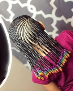 Kid hairstyles 729372102134856571 - 2019 Latest Cornrows Braided Hairstyles You Should Try Little Girl Braids, Black Girl Braids, Braids For Kids, Braids For Black Hair, Girls Braids, Toddler Braids, Side Braids, Lil Girl Hairstyles, Black Kids Hairstyles
