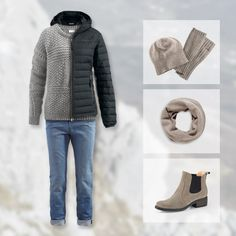 Stylisches Warm-Up mit einer Prise Outdoor - hessnatur