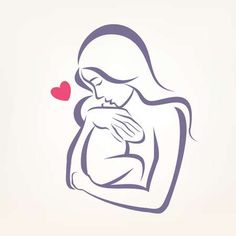 Mothers Day Drawings Discover mom and baby stylized symbol outlined sketch - Millions of Creative Stock Photos Vectors Videos and Music Files For Your Inspiration and Projects. Mommy Tattoos, Mutterschaft Tattoos, Motherhood Tattoos, Mother Tattoos, Bild Tattoos, Family Tattoos, Couple Tattoos, Tatoos, Mother Art