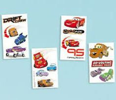 Disney Cars Tattoo Party Favors 16/Pkg 393250