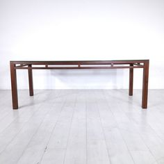 Ellison Glass Top Dining Table