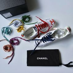 CHANEL PHARRELL SNEAKERS LIMITED EDITION Chanel, Mp3 Player, Wardrobes, Shoes Sneakers, Vintage Fashion, Couture, Ebay, Luxury, Loafers & Slip Ons