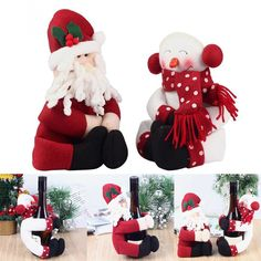 =>>Save on2 Set  2016 Newest Red Wine Bottle Cover Bags Hug Santa Claus Snowman  Dinner Table Decoration Home Christmas Party Decors2 Set  2016 Newest Red Wine Bottle Cover Bags Hug Santa Claus Snowman  Dinner Table Decoration Home Christmas Party DecorsBig Save on...Cleck Hot Deals >>> http://id865324017.cloudns.hopto.me/32515103319.html.html images