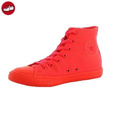 Converse Chuck Taylor 153802C All Star Sneaker Hi 'Rubber' Signal red, Schuhe Damen:40