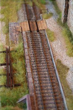 """140_diorama ferroviario """"Birkenwald: il bosco di betulle"""""""