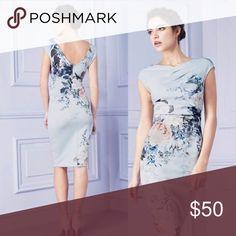 Flower Print Elegant Midi Back to original price after cyber Monday Dresses Midi