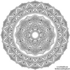 ԑ̮̑♦̮̑ɜ~Mandala para Colorear~ԑ̮̑♦̮̑ɜ Krita Mandala 36 by WelshPixie on DeviantArt Pattern Coloring Pages, Mandala Coloring Pages, Free Coloring Pages, Coloring Books, Mandalas Painting, Mandalas Drawing, Mandala Artwork, Free Adult Coloring, Printable Adult Coloring Pages