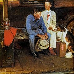 Norman Rockwell | Philip Chasen Antiques