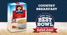 Quaker is serving up wholesome goodness in delicious ways. Nourish your family morning to night with healthy breakfast and healthy snack options. Quaker Oatmeal Cookies, Quaker Instant Oatmeal, Lays Potato Chip Flavors, Lays Potato Chips, Cinnamon Oatmeal, Chocolate Oatmeal, Better Bowl, Healthy Snack Options, Eat Healthy