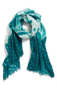 Hinge® Patchwork Print Scarf available at #Nordstrom