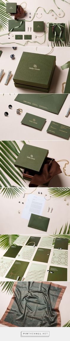 Branding, fashion and packaging for Atolye Gozde Branding on Behance by Frames