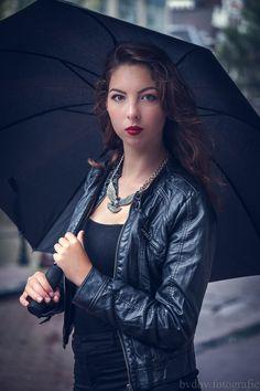 Model: Rowan Linschoten Photographer: Bram Van Dal    #beauty #lovely #female #model  #Black #leather #jacket #zwart #wit #studio #Bram #van #Dal #bvdbv #photographer #photo #shoot #portrait #portret #eye  #eyes #headshot #shoot #close-up #closeup #Eindhoven #amsterdam #city #umbrella #paraplu #hands