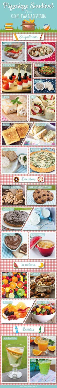 Piquenique saudável: lanches para levar na cestinha - Blog da Mimis - Dicas e receitas de lanches práticos e saudáveis!!