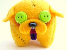 Halloween Zombie Adventure Time Jake the Dog, Zombie Jake Plush