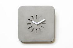 Life in Progress - Clock by LYON BETON made in Franceop CROWDYHOUSE