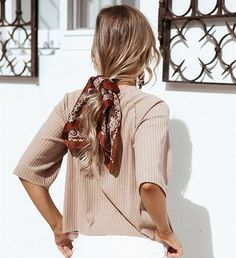 Hair Scarf For Fall