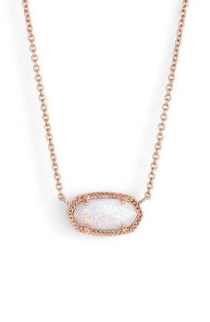 """- A glittering stone sparkles at the center of a mesmerizing, versatile pendant necklace. - 15"""" length; 2 1/2"""" extender; 3/8""""W x 5/8""""L pendant dimensions. - Lobster clasp closure. - 14k-yellow or 14k-"""