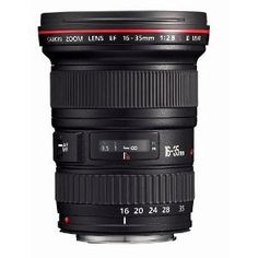 Canon 16-35mm lens - Want this. Oh the movies we would make! DSLR movies.