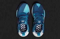 Adidas Originals NMD R1 Men Blue Geometric Camo