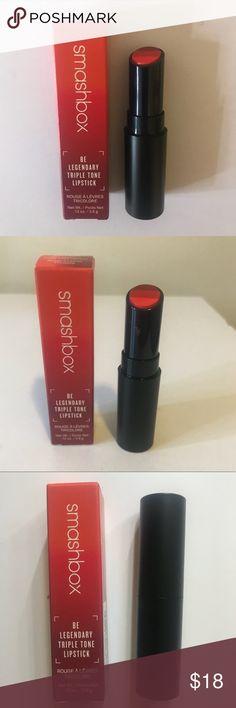 Smashbox Red Ombre Triple Tone Lipstick New, never used Smashbox Makeup Lipstick
