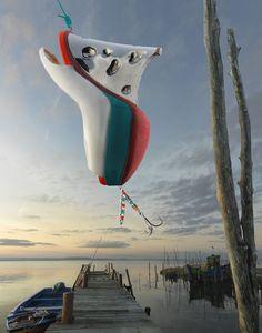 La pêche aux souliers de Christian Louboutin