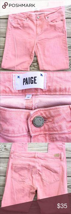 Paige Pink Denim Ver