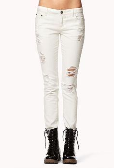 Destroyed Skinny Jeans ~ Forever 21