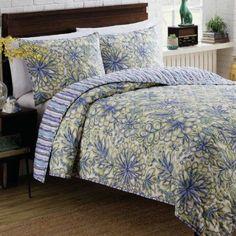Vue Shaylee Reversible 2-Piece Quilt Bedding Set, Multi-Color, Multicolor