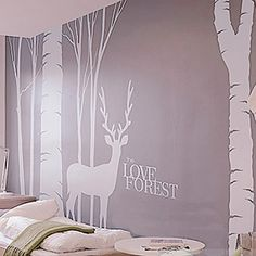 Love Forest Wall Stickers I wants this!