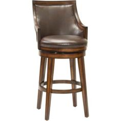 Lyman Upholstered Swivel Barstool with Back found at @JCPenney