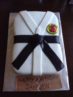 Tae Kwon Do cake …