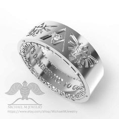 It's Dangerous To Go Alone wedding band.