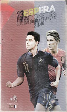 EURO 2012 France vs. Spain