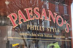 Paesano's is an amazing sandwich shop located in South Philadelphia's Bella Vista. (Photo: M. McClellan for GPTMC)