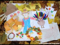 Learn and Grow Designs: Fun Fall Arts and Crafts Kit for Children