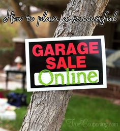 How to plan a successful Online Garage Sale                                                                                                                                                      More