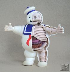 Stay Puft Marshmallow Man Anatomical Sculpture