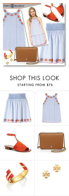 """It's All About Tory!"" by brendariley-1 ❤ liked on Polyvore featuring Tory Burch"