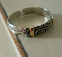 Antique Sterling Ring Ethnic Vintage Silver From Suziewheatvintage 88 00 Would Make A Fabulous Wedding
