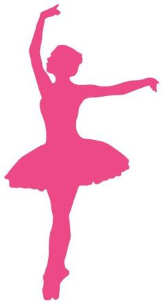 Ballet silhouette Wall Decals Ballet Silhouette Style 27 - Hot Pink - 12 inches x 6 inches - Peel and Stick Removable Graphic Wallmonkeys Wall Decals http://www.amazon.com/dp/B00C9H7QU4/ref=cm_sw_r_pi_dp_znP5ub16SNXBS