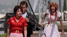 "Rizzo has a ""Riz"" embroidered shirt on during the carnival scene and it's amazing. 