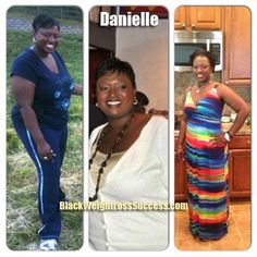 Danielle lost 61 pounds | Black Weight Loss Success