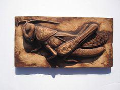 Grasshopper French Provincial Style Kitchen Decor by SculptureGeek