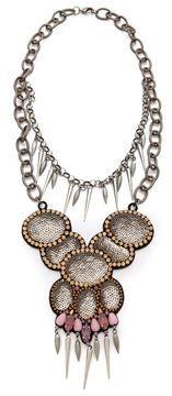 Deepa gurnani Layered Statement Necklace on shopstyle.com