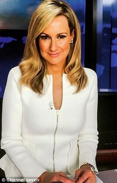 Channel Seven's Melissa Doyle previously wore the Scanlan Theodore jacket in a fetching cr. Scanlan Theodore, Veronica Lake, Plus Size Women, Interview, Pumps, Sexy, Instagram Posts, Jackets, How To Wear