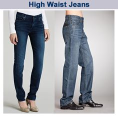 Get custom made high waist jeans from just click away, Visit us sqjeans.com for more #CustomMadeJeans products……