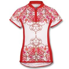 043ba257c Shebeest Women s Divine Flourish Short Sleeve Cycling Jersey Women s  Cycling Jersey